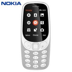 SIM Free Nokia 3310 (2017) Unlocked - Grey