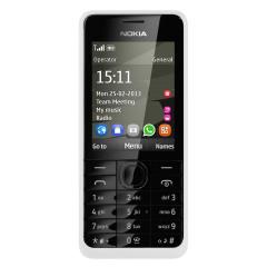 Sim Free Nokia Asha 301 - White
