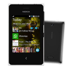 Sim Free Nokia Asha 500 - Black