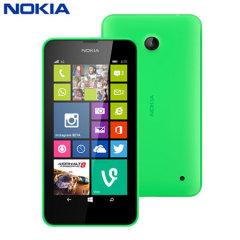 SIM Free Nokia Lumia 630 - Green