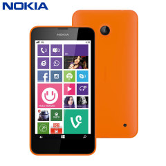 SIM Free Nokia Lumia 630 - Orange