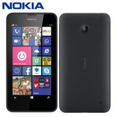 SIM Free Nokia Lumia 635 - Black