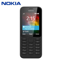 SIM Free Nokia Unlocked  215 - Black
