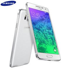 SIM Free Samsung Galaxy Alpha 32GB - Dazzling White