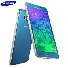 SIM Free Samsung Galaxy Alpha 32GB - Scuba Blue