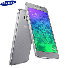 SIM Free Samsung Galaxy Alpha 32GB - Sleek Silver
