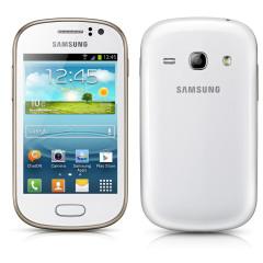 Sim Free Samsung Galaxy Fame - White