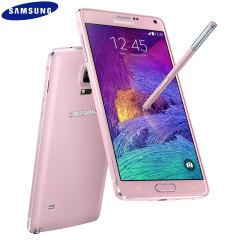 SIM Free Samsung Galaxy Note 4 - Blossom Pink