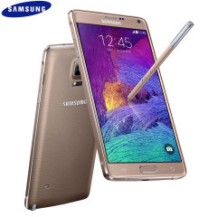 SIM Free Samsung Galaxy Note 4 - Bronze Gold