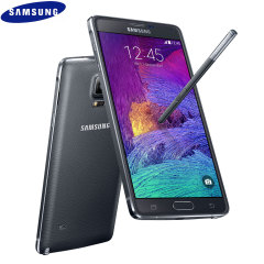 SIM Free Samsung Galaxy Note 4 - Charcoal Black