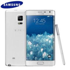 SIM Free Samsung Galaxy Note Edge 32GB - Frost White