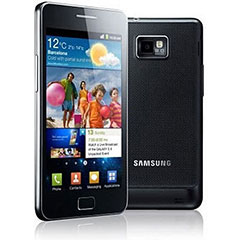 Sim Free Samsung Galaxy S2 i9100 - 16GB Black