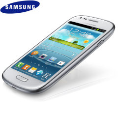 Sim Free Samsung Galaxy S3 Mini Unlocked - Ceramic White - 8GB
