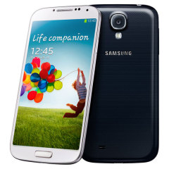 Sim Free Samsung Galaxy S4 with LTE+ - Black - 16Gb
