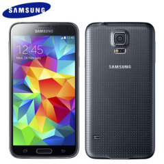 SIM Free Samsung Galaxy S5 - Black - 32GB