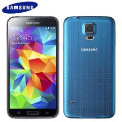 SIM Free Samsung Galaxy S5 - Blue - 32GB
