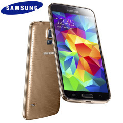 SIM Free Samsung Galaxy S5 Unlocked - Gold - 16GB