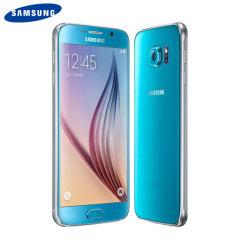 SIM Free Samsung Galaxy S6 - Blue 32GB