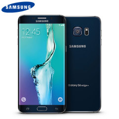 SIM Free Samsung Galaxy S6 Edge Plus Unlocked - 32GB - Black Sapphire