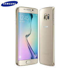 SIM Free Samsung Galaxy S6 Edge Unlocked - 64GB - Gold
