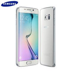 SIM Free Samsung Galaxy S6 Edge - White 64GB