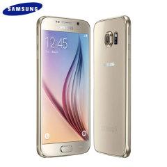 SIM Free Samsung Galaxy S6 - Gold 32GB