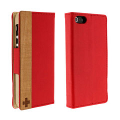 Simplism iPhone 5 Flip Case - Red