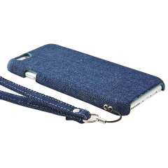 Simplism iPhone 6 Fabric Case with Card Holder - Denim
