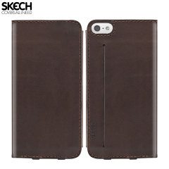 Skech Lisso Book Case for iPhone 5S / 5 - Brown