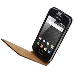 SlimLine Premium Leather Flip Case - Samsung Galaxy Ace