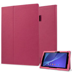 Smart Stand and Type Sony Xperia Tablet Z2 Case - Pink
