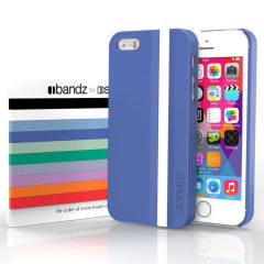Snapz iPhone 5S/5 Case and Interchangeable Bandz - Monaco Blue