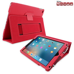 Snugg Leather Style iPad Pro Case - Red