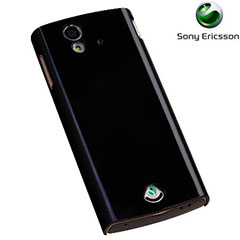 Sony Ericsson SMA6117B Protective Hard Shell for Xperia ray - Black