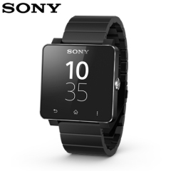 Sony SmartWatch 2 Android Watch - Black Metal