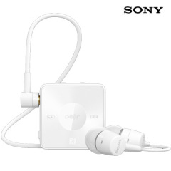 Sony Stereo Bluetooth Headset SBH20 - White