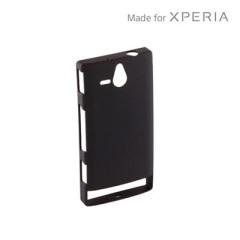 Sony Xperia U Protective Shell - Black - SMA6119B