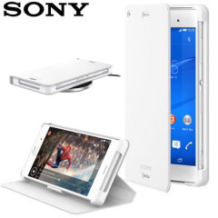 Sony Xperia Z3 WCR14 Wireless Charging Cover - White