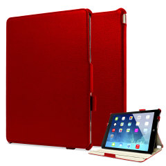 Sophisticase iPad Air Frameless Case - Red