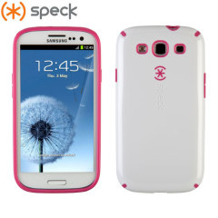 Speck CandyShell Case for Samsung Galaxy S3 - White/Pink