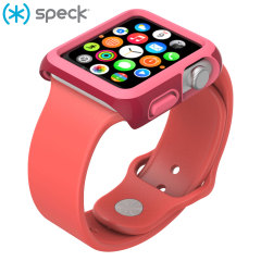 Speck CandyShell Fit Apple Watch Case (38mm) - Red / Pink