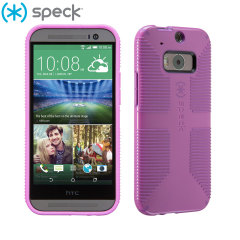 Speck CandyShell Grip HTC One M8 Case - Purple
