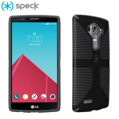 Speck CandyShell Grip LG G4 Case - Black / Grey