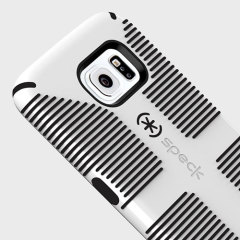 Speck CandyShell Grip Samsung Galaxy S6 Case - White / Black