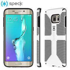 Speck CandyShell Grip Samsung Galaxy S6 Edge Plus Case - White / Black