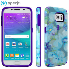 Speck CandyShell Inked Samsung Galaxy S6 Case - Blue / Purple
