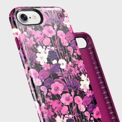 Speck Presidio Inked iPhone 7 Case - Metallic / Magenta Pink