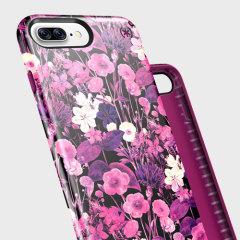 Speck Presidio Inked iPhone 7 Plus Case - Metallic / Magenta Pink