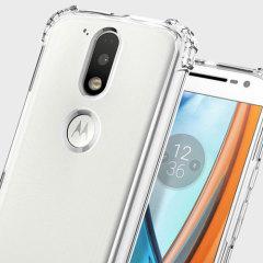 Spigen Crystal Shell Moto G4 / G4 Plus Case - 100% Clear