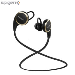 Spigen Essential R12E Bluetooth Headphones - Black